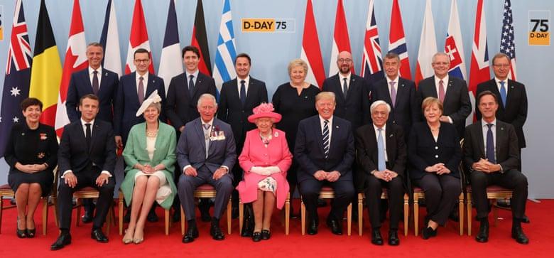 ราชินีอังกฤษ-เหล่าผู้นำโลกร่วมรำลึก ครบรอบ 75 ปียกพลขึ้นบกวันดีเดย์