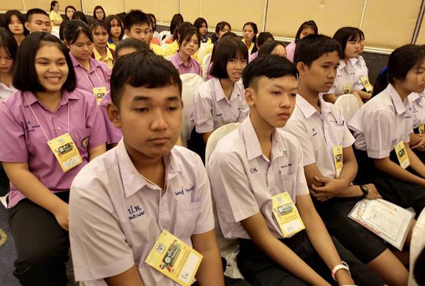 เครือเจริญโภคภัณฑ์หนุนเยาวชนบุรีรัมย์ เป็นแกนนำจิตอาสารณรงค์บริจาคโลหิต
