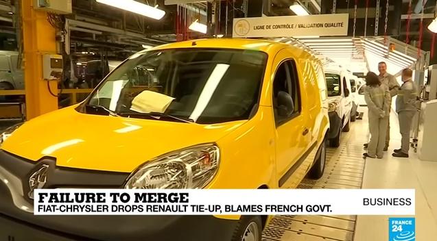 """In Clips: สุดตะลึง """"เฟียต ไครสเลอร์"""" ยกเลิกควบรวมกิจการกับ """"เรโนลต์"""" กะทันหัน อ้างบรรยากาศการเมืองฝรั่งเศสไม่เป็นใจ"""