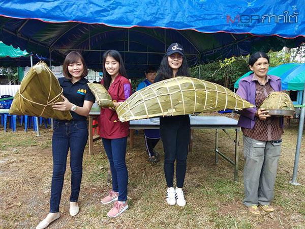 คนไทยเชื้อสายจีนในเบตง และจากมาเลเซีย เดินทางร่วมงานเทศกาลไหว้บะจ่าง