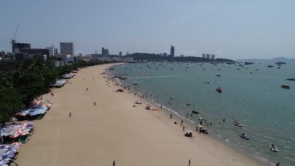 ส่งมอบแล้ว..ชายหาดต้นแบบเมืองพัทยา หลังกรมเจ้าท่า เสริมทรายแก้ปัญหาน้ำทะเลกัดเซาะแล้วเสร็จ