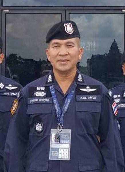 พ.ต.อ.รุทธพล   เนาวรัตน์ รองผู้บังคับการตำรวจภูธรจังหวัดบุรีรัมย์