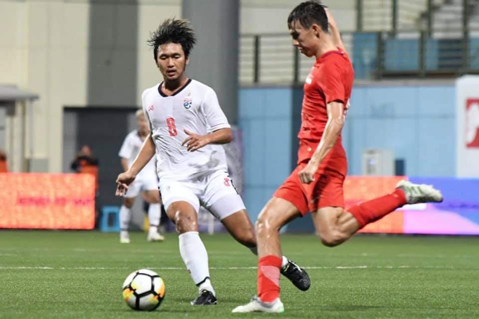 ช้างศึก U23 พ่าย สิงคโปร์ 0-1 จบรองแชมป์ เมอร์ไลออน คัพ 2019