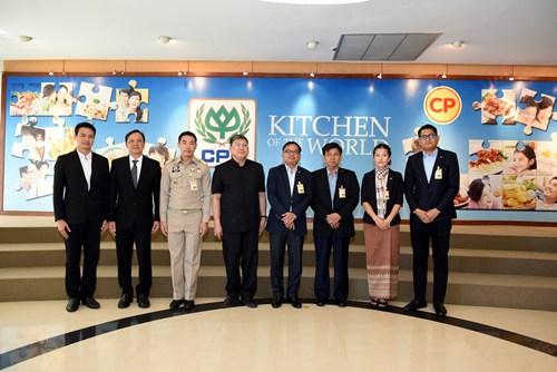 เอกอัครราชทูตกัมพูชา ชื่นชมซีพีเอฟดูแลแรงงานต่างชาติได้มาตรฐานสากล