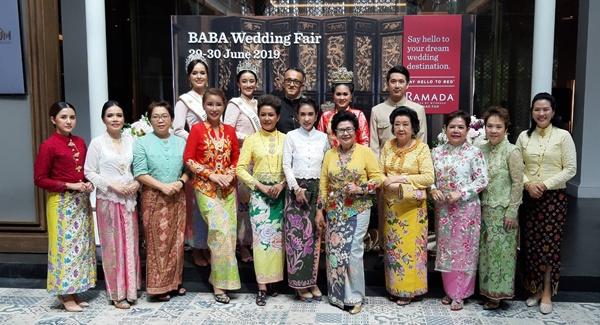 โรงแรมรามาดา พลาซ่า เจ้าฟ้า จัดงาน Baba Wedding Fair เปิดตลาดคู่รักแต่งงานสไตล์ภูเก็ต