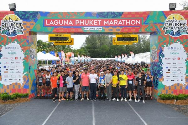 """นักวิ่งกว่า 73 ประเทศทั่วโลกร่วม """"วิ่งมาราธอน ลากูน่า ภูเก็ต2019"""" สร้างรายแก่ชุมชนกว่า 147 ล้าน"""