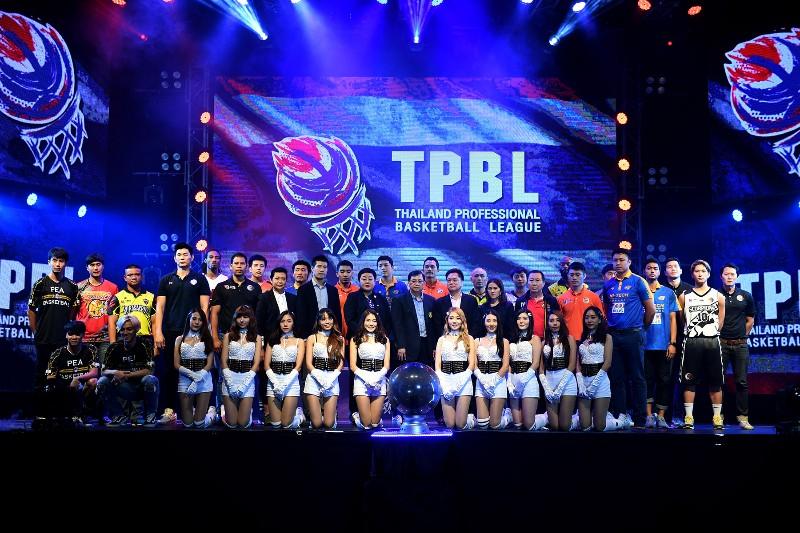 """""""โมโน-ไฮเทค"""" นำทัพ 6 ยอดทีมยัดห่วงไทย เปิดตัวลีกใหม่ TPBL"""