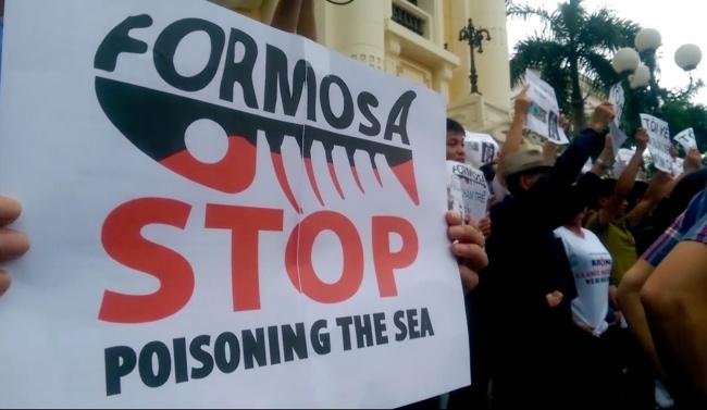 เหยื่อภัยพิบัติสารพิษรั่วโรงงานฟอร์โมซาในเวียดนามรวมตัวยื่นฟ้องเรียกค่าชดเชย