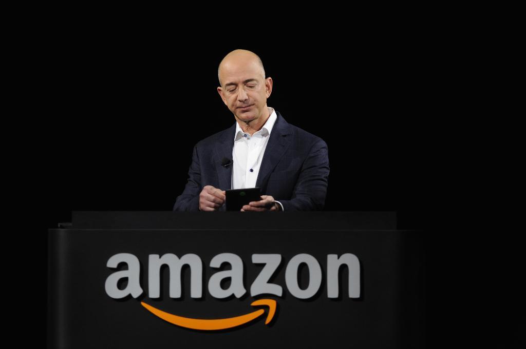 Jeff Bezos ผู้ก่อตั้ง Amazon