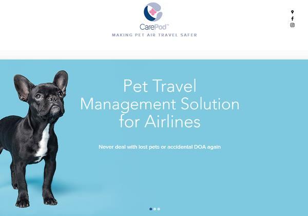 แคร์พ็อดจับมือเดลตา แอร์ไลน์ปฏิวัติการขนส่งสัตว์เลี้ยงทางเครื่องบิน (ภาพจากเว็บไซต์แคร์พ็อด)