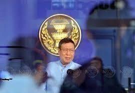 พรเพชร วิชิตชลชัย ประธานวุฒิสภา (แฟ้มภาพ)