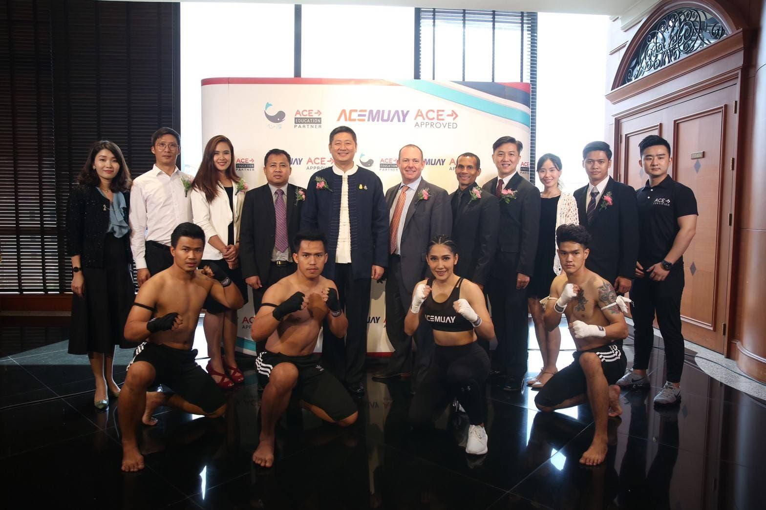 """""""ซิน ชุน เวลเนส""""ทุ่ม 500 ล้านเปิดสถาบันกีฬา-ฟิตเนส-โรงเรียนมวยไทยมาตรฐาน ACE"""