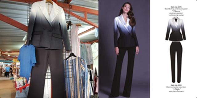 POEM ไม่ถูกใจสิ่งนี้ หลังเจอแม่ค้าก๊อปปี้ชุดสูท Black & White OMBRE วางขายตลาดนัด