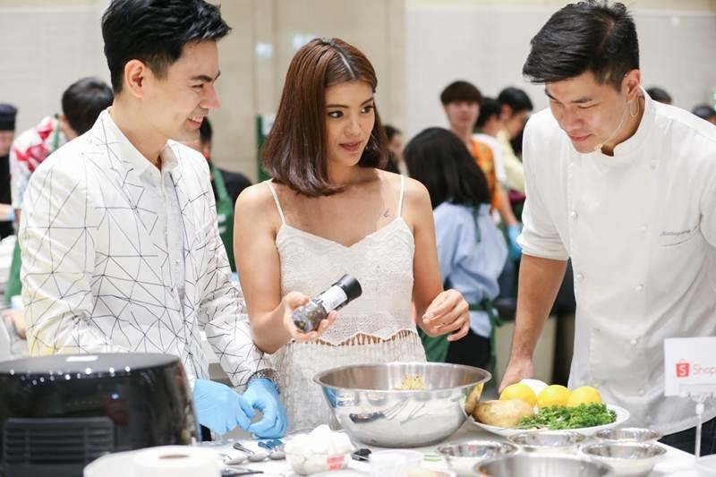'ช้อปปี้' จับมือ 'ฟิลิปส์'ปฏิวัติการทำอาหารเอาใจคนรักสุขภาพ