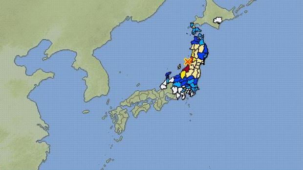 ด่วน!!ญี่ปุ่นประกาศเตือนสึนามิ หลังเกิดแผ่นดินไหวรุนแรงระดับ6.8
