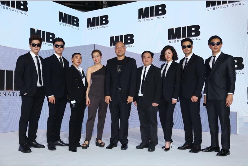 """โซนี่ พิคเจอร์ส ประเทศไทย จัดใหญ่ ใส่เต็ม""""บอย-อาเล็ก-นาย-ใบเฟิร์น"""" ร่วมงานเปิดตัว """"MIB"""""""