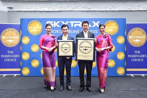 การบินไทยรับรางวัลสายการบินยอดเยี่ยมอันดับ 1
