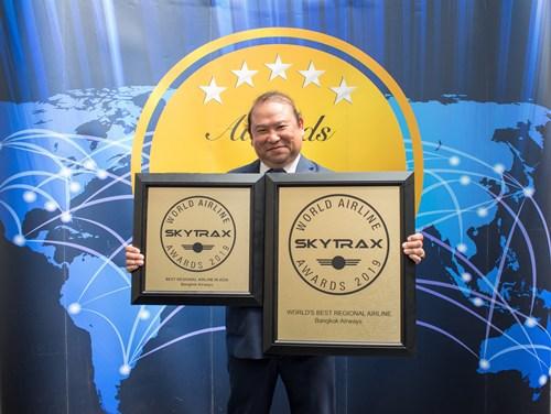 บางกอกแอร์เวย์สคว้า 2 รางวัลระดับโลก
