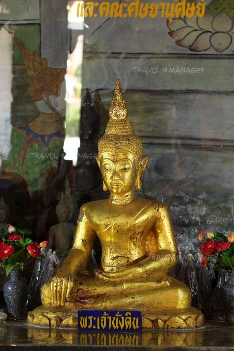 พระเจ้านั่งดิน พระพุทธรูปที่แตกต่างจากทั่ว ๆ ไป