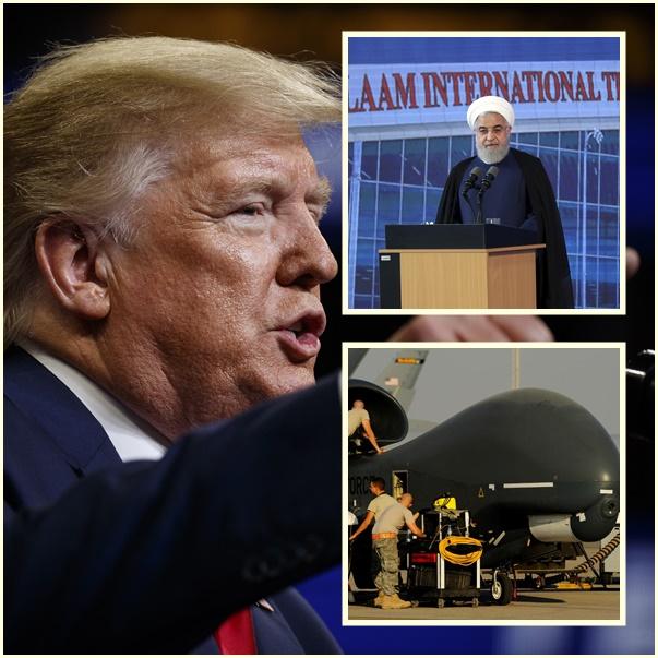 """InClips :ด่วน!! """"ทรัมป์"""" เตรียมก่อสงคราม สั่งทหารโจมตีอิหร่านคืนวันพฤหัสบดี แต่ปฎิบัติการถูกยกเลิกก่อนเริ่มเปิดฉาก"""