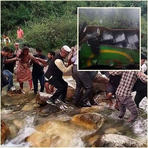 InClips : รถบัสอินเดียพลัดตกเขาชัน ดับไม่ต่ำกว่า 44 ศพในรัฐหิมาจัลประเทศ