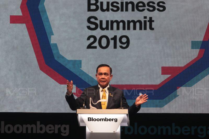 """นายกฯ เป็นประธาน กล่าวปาฐกถาในโอกาสการประชุมผู้นำธุรกิจอาเซียน ครั้งที่ 5 """"The Future of Thailand and ASEAN"""""""