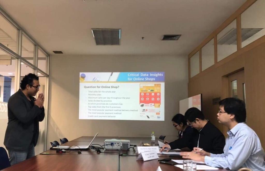 นักศึกษา ม.หอการค้าไทย ผงาดคว้าคว้ารางวัลประเภทผลงานวิจัยดีเด่น  TGGS  STI Award 2019