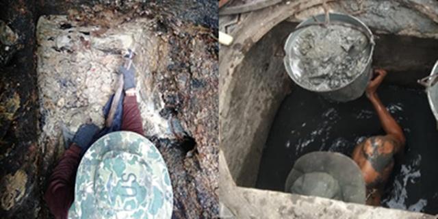 ผงะ! พบทั้งปูน-หินเม็ด แฝงในท่อระบายน้ำ เชื่อเป็นสาเหตุน้ำท่วมขังในกรุงเทพฯ