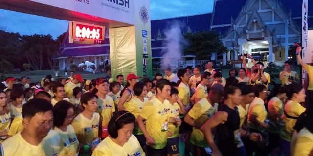 นักวิ่งกว่า3,000คน ร่วมศึกมินิมาราธอน ต่อต้านยาเสพติด