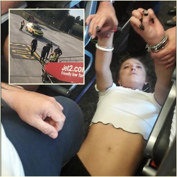 In Clips :ระทึก!! บินรบอังกฤษทำโซนิกบูมกลางอากาศ บินประกบเครื่องบินโดยสาร Jet2 หลังผดส.หญิงพยามวิ่งเข้าห้องกัปตัน ก่อนขู่จะฆ่าทุกคนบนเครื่อง