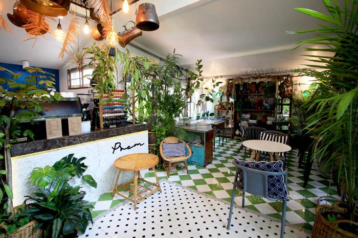 """""""Prem Cafe In The Garden"""" คาเฟ่สวยในสวนร่มรื่น"""