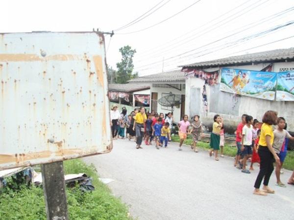 ชาวบ้านน้ำเค็ม จ.พังงา ซ้อมแผนอพยพหนีภัยคลื่นสึนามิ ลดการสูญเสียหากเกิดสถานการณ์จริง