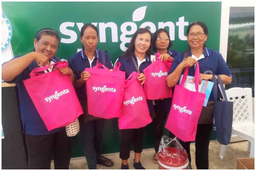 'ซินเจนทา' ฉลองวันข้าวและชาวนาไทย  โชว์นวัตกรรม ช่วยชาวนาลดต้นทุน 15%