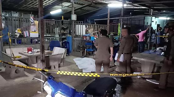 ผู้รับเหมาก่อสร้างยัวะรัวยิงผู้รับเหมาด้วยกันเสียชีวิตข้างโรงงานนาโกย่า