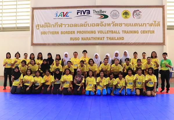 ศูนย์ฝึกกีฬาวอลเล่ย์บอล จชต. นำเยาวชนเข้าร่วมฝึกอบรมทักษะกีฬาวอลเล่ย์บอล ครั้งที่ 1