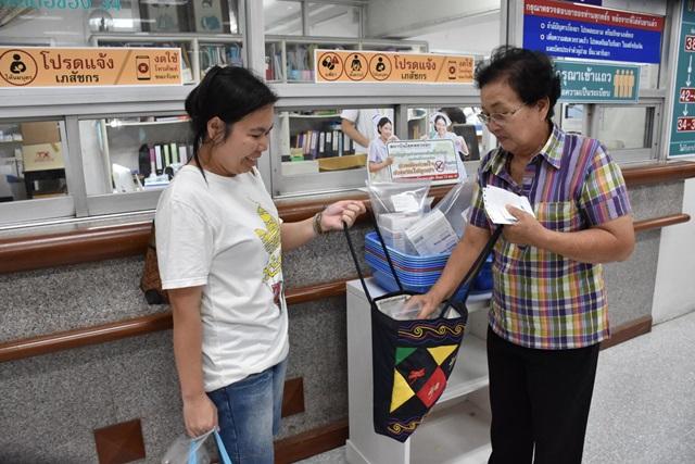 สธ. ลดถุงหิ้วพลาสติกใส่ยาร้อยละ 87 ยืนยันผู้รับบริการพึงพอใจ-ยินดีช่วยลดโลกร้อน