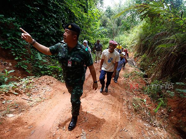 ชาวหินล้านงาม จ.ยะลา ร้องขอทำถนนเพื่อการท่องเที่ยว และใช้สัญจรทำมาหากิน