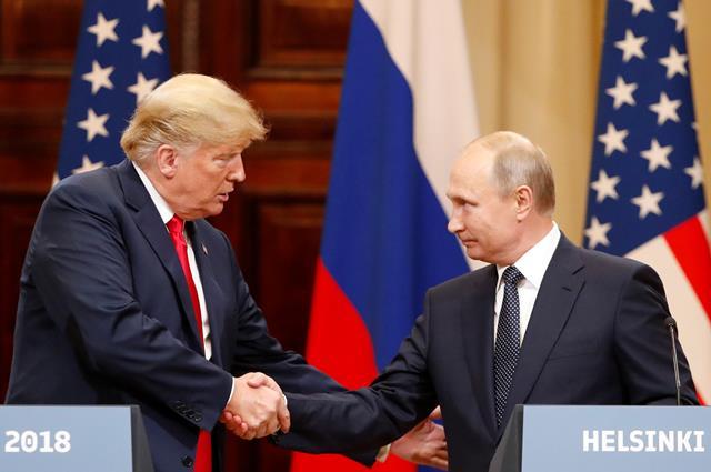 """ปูตินเชิญ """"ทรัมป์"""" ร่วมงานรำลึกสงครามโลกในรัสเซีย"""