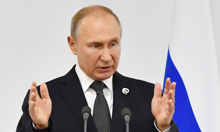 """ปูตินเผย! สหรัฐฯ-รัสเซียเตรียมตั้งโต๊ะคุยประเด็นควบคุม """"อาวุธนิวเคลียร์"""""""