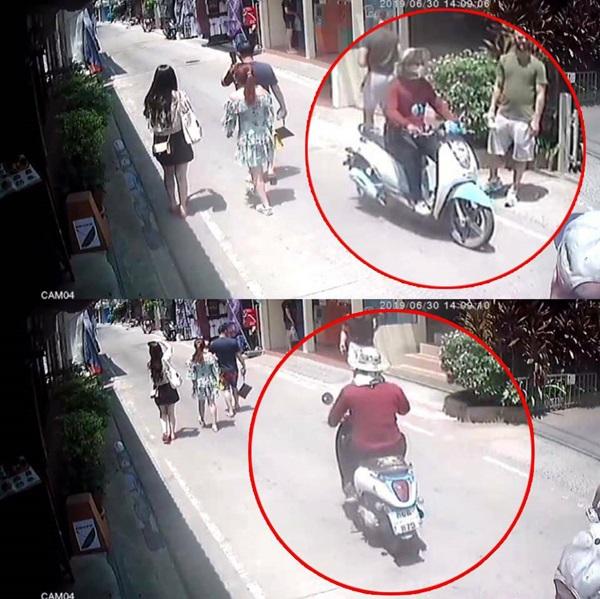รวบแล้ว! หนุ่มก่อสร้างซิ่งจักรยานยนต์ชิงทรัพย์นักท่องเที่ยวจีน อ้างหาเงินจ่ายหนีพนันบอลออนไลน์