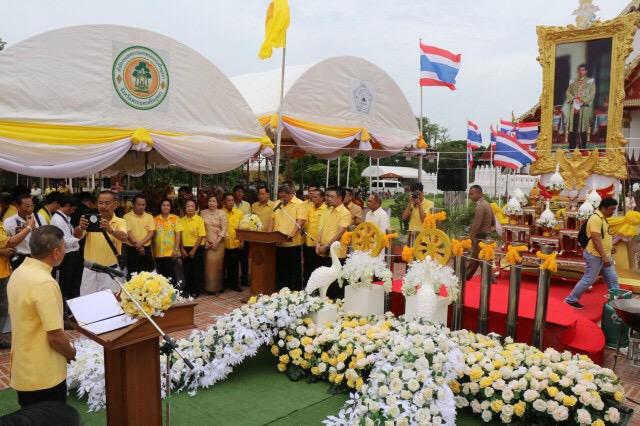 ชาวกรุงเก่าร่วมพิธีหล่อเทียนพรรษาสืบสานประเพณีวัฒนธรรม ประเพณีไทย