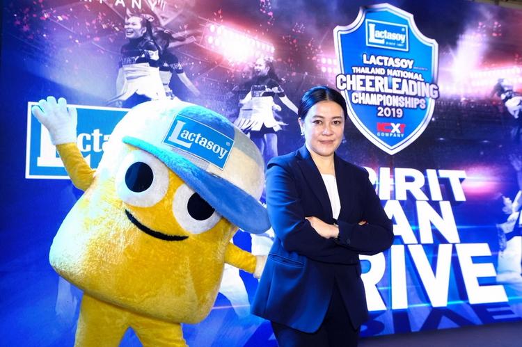แลคตาซอย สนับสนุนนักกีฬาเชียร์ลีดดิ้งไทยก้าวสู่เวทีระดับโลก