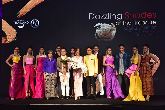 บรรยากาศกิจกรรม CEO Night and Luxury Product Presentation – Dazzling Shades of Thai Treasure Gala Dinner