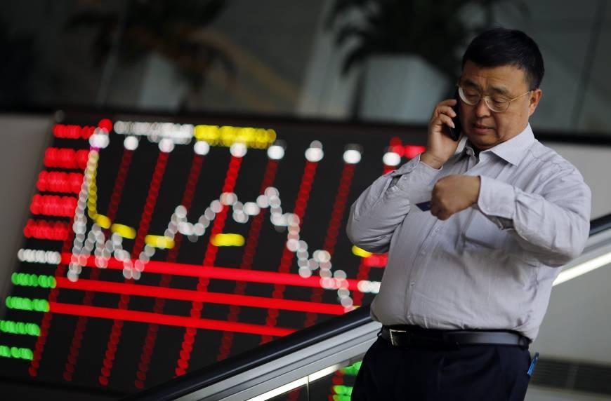 ตลาดหุ้นเอเชียปรับลงในแดนลบ หลังสหรัฐเปิดศึกการค้ากับยุโรป