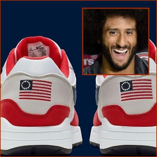 "In Clip: ""ไนกี้"" ยอมถอย เอารองเท้ากีฬา ""ไนกี้แอร์แม็กซ์รุ่นติดธงชาติสหรัฐฯ"" ออกจากตลาด หลังโดนนักกีฬา NFL ชื่อดังโวย"