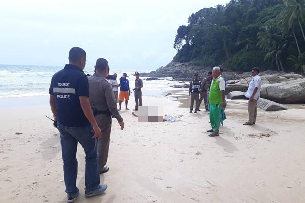 คลื่นแรงซัด 2 พ่อลูก นักท่องเที่ยวเมืองผู้ดีจมน้ำหาดสุรินทร์ดับ 1 เจ็บ 1