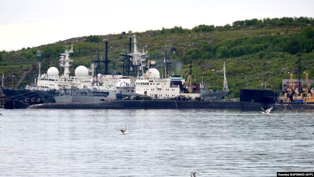 """รัสเซียเผย """"เรือดำน้ำลับ"""" ที่ไฟไหม้สามวันก่อนใช้พลังงานนิวเคลียร์"""