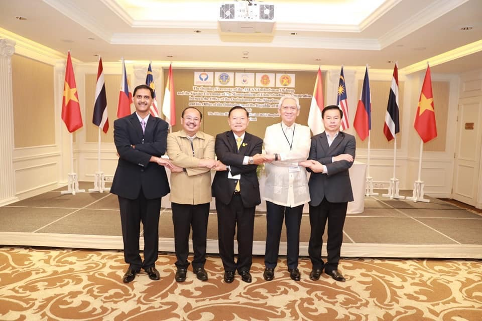 ผู้ตรวจฯ จับมือ 5 ชาติอาเซียนตั้งSEAOF พร้อมยกระดับกลไกคุ้มครองปชช.