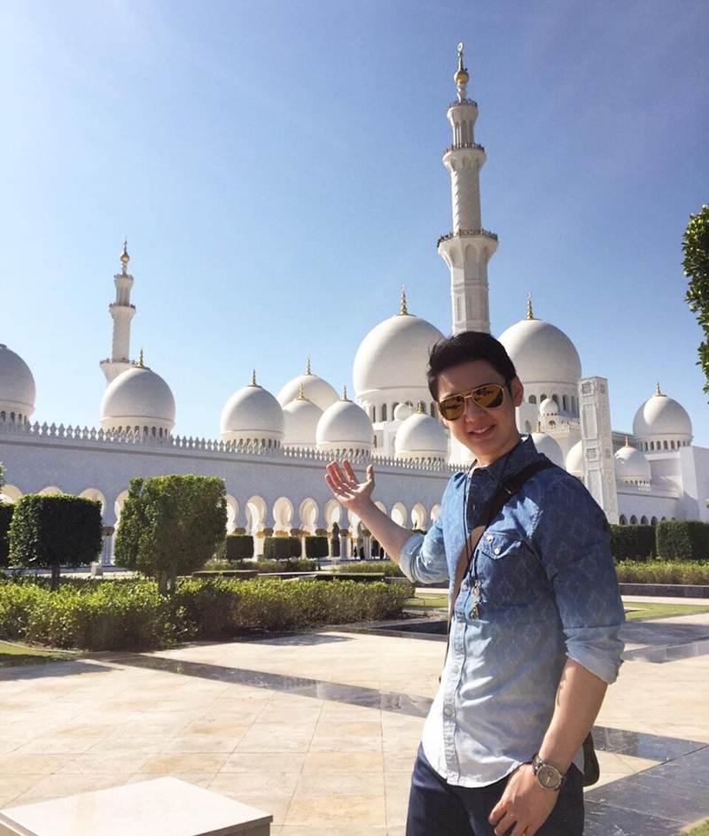 Sheikh Zayed bin Sultanal Nahyan Grand Mosque, United Arab Emirates