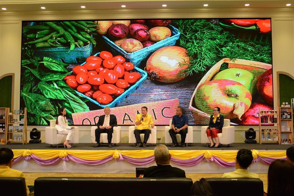 """""""พาณิชย์""""ตั้งเป้าดันมูลค่าตลาดสินค้าเกษตรอินทรีย์ไทยเพิ่มเป็น 5 พันล้านใน 3 ปี"""